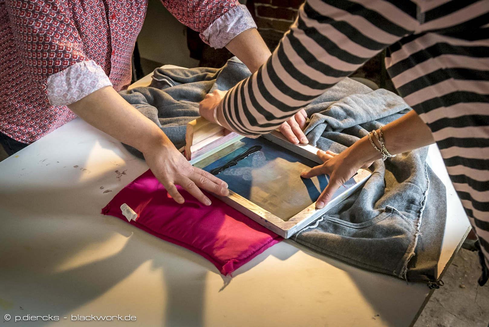 Siebdruck-Workshops