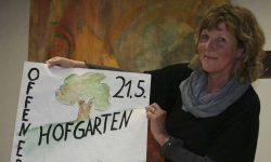 Bärbel Wisloh aus Neubruchhausen stellt ihr neues Atelier vor
